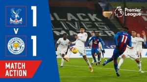Crystal Palace vs Leicester City 1 - 1 (EPL Goals & Highlights)