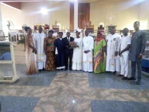 Love Story! 99-year-old Nigerian Man Weds His 86-year-old Partner In Church After Decades Together (Photos)