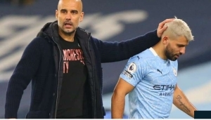 Aguero Will Have To Be At His Best To Play For Man City – Pep Guardiola