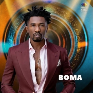 #BBNaija: Boma Emerges First Male Head Of House