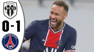 Angers vs PSG  0 - 1 (Ligue 1 Goals & Highlights 2021)