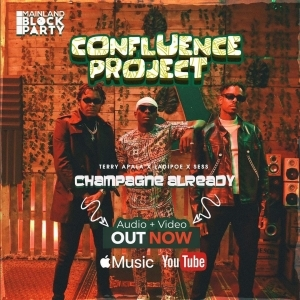 Terry Apala ft. LadiPoe, Sess – Champagne Already