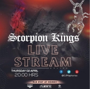 Scorpion Kings Live Stream Mix 2 – Kabza De Small & DJ Maphorisa APRIL 2020