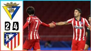 Cadiz vs Atletico Madrid  2 - 4 (LA Liga  Goals & Highlights 2021)