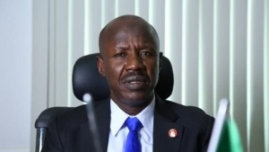 EFCC acting chairman, Ibrahim Magu reportedly detained (See Why)