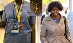 Nigerian Nurse Drags UK Hospital To Court Over Claims She Was Bullied And Dismissed For Wearing Cross Around Her Neck