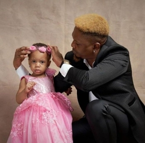 Rapper, Reminisce Celebrates Beautiful Daughter As She Clocks 2