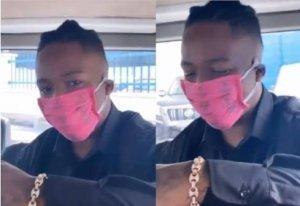 'Return Mercy's Sanitary Pad' – BBNaija's Omashola Mocks Ike Over His Face Mask (Video)