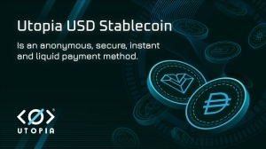 Utopia P2P Introduces Anonymous USD Stablecoin Backed by DAI