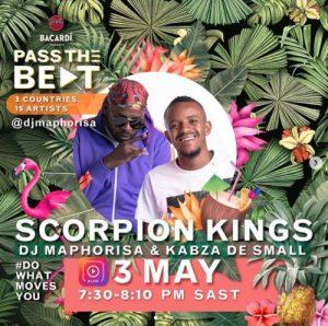DJ Maphorisa, Kabza De Small – Barcadi Amapiano Live Mix