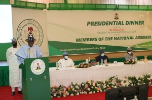 We must do everything within our power to end insecurity - President Buhari tells NASS members