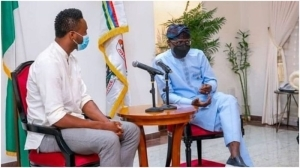 JUST IN!!! Former Eagles Star, Mikel Obi Meets Gov Sanwo-Olu