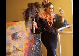 Bobrisky Sprays Money On Nengi At Her Birthday Party