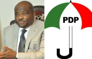 PDP reacts to Governor Wike calling its leaders