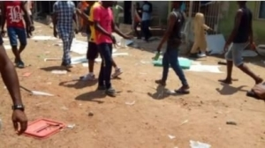 Ondo Decides 2020: Sporadic Shooting In Polling Unit