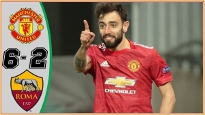 Manchester United vs Roma  6 - 2 (Europa League Goals & Highlights 2021)