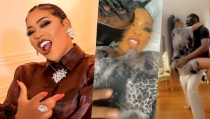 Celebrity Stylist, Toyin Lawani And Husband Tension Fans With Display Of Love (Video)