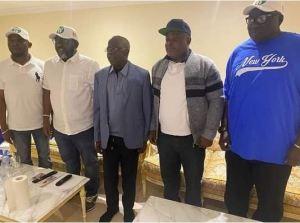 Lagos State Assembly Members Visit Asiwaju Bola Tinubu In London