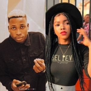 Singer, Lil Frosh Shares Screenshots Of His Chat With His Ex-Girlfriend After She Called Him A Liar For Saying He Didn't Assault