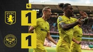 Aston Villa vs Brentford 1 - 1 (Premier League 2021 Goals & Highlights)