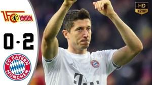 Union Berlin vs Bayern Munich 0 - 2   17-05-2020   Bundesliga All Goals & Highlights