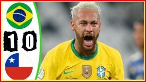Brazil vs Chile 1 − 0 (Copa America 2020 Goals & Highlights)