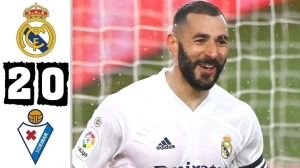 Real Madrid	vs Eibar	2 - 0 (LA Liga Goals & Highlights 2021)