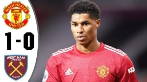 Manchester United vs West Ham 1 - 0 (EPL Goals & Highlights 2021)