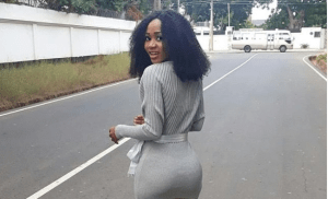 SEE Crazy Reactions From Akuapem Poloo BackSide Photo