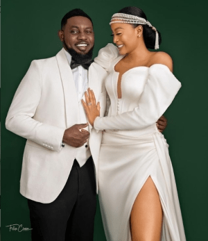 Comedian AY and wife, Mabel jubilates as they celebrates their anniversary