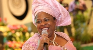 Patience Jonathan tells Nigerian students to aspire to be first lady, president