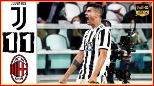 Juventus vs AC Milan 1 − 1 (Serie A  2021 Goals & Highlights)