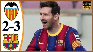 Valencia vs Barcelona 2 - 3 (LaLiga Goals & Highlights 2021)