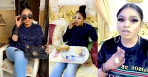 Bobrisky vows to continue slaying, says coronavirus can't stop him. (Video)