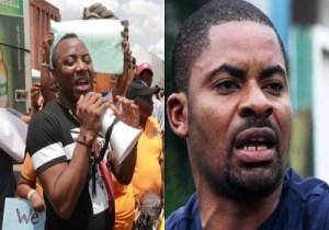 BREAKING: Sowore, Adeyanju Lead Abuja #EndSARS Anniversary Protest