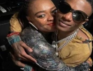 Wizkid And Sister Reunite After Two-years