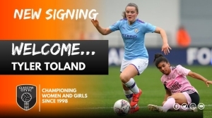 Scottish Champions Glasgow City Have Signed Tyler Toland On Loan From Manchester City
