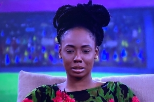 #BBNaija: Tolanibaj Has Been Evicted From The Big Brother House.