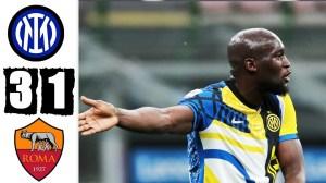 Inter vs Roma 3 - 1 (Serie A Goals & Highlights 2021)
