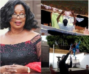 Curses will befall men who wash their women panties in the name of love – Actress Maame Dokono