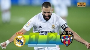 Real Madrid vs Levante  1 - 2 (LA Liga Goals & Highlights 2021)