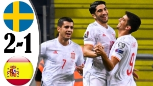 Sweden vs Spain 2 − 1 (2022 World Cup Qualifiers Goals & Highlights)