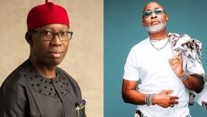 Delta State Governor, Ifeanyi Okowa Felicitates With Actor, RMD On 60th Birthday