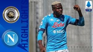 Spezia vs Napoli  1 - 4 (Serie A Goals & Highlights 2021)