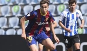 Barcelona agree new deal with first team chance and €500m release clause for son of La Liga legend