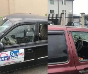 Thugs From Oyo Transport Union Attack Peoples Democratic Party Congress, Destroy Over 100 Vehicles