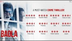 Badla (2019) [Hindi] (Official Trailer)