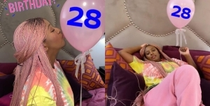 DJ Cuppy In A Serious Birthday Mood As She Celebrates Her 28th Birthday
