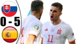 Slovakia vs Spain 0 - 5 (EURO 2020 Goals & Highlights)