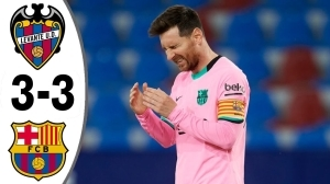 Levante vs Barcelona 3 - 3 (LaLiga Goals & Highlights 2021)